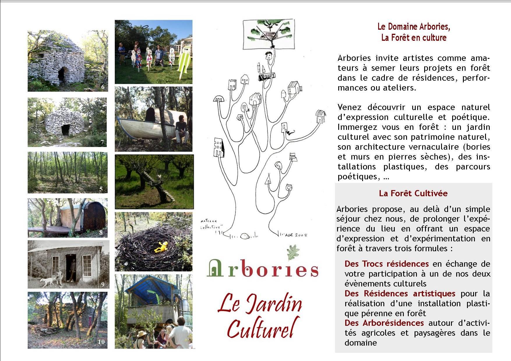 page association 1 plaquette arbories